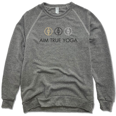AIM TRUE YOGA | FLEECE SWEATSHIRT | LOGO