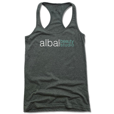 ALBA ORGANIC BEAUTY STUDIO | LADIES TANK | LOGO