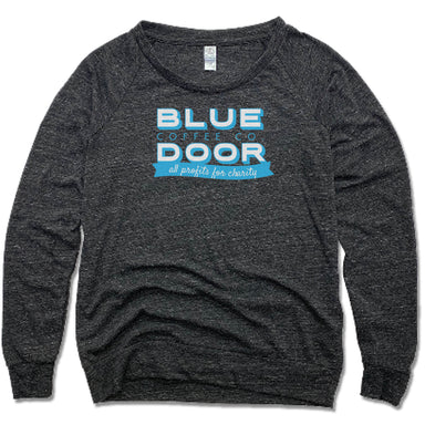 BLUE DOOR COFFEE CO. | LADIES SLOUCHY | LOGO