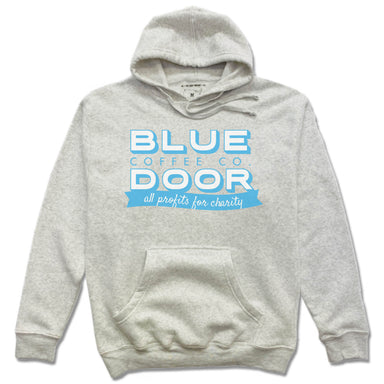 BLUE DOOR COFFEE CO. | FRENCH TERRY HOODIE | LOGO
