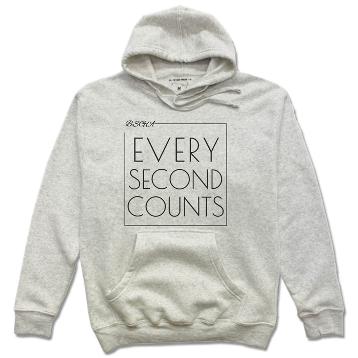 BRIGHT STARS GYMNASTICS ACADEMY | FRENCH TERRY HOODIE | EVERY SECOND COUNTS
