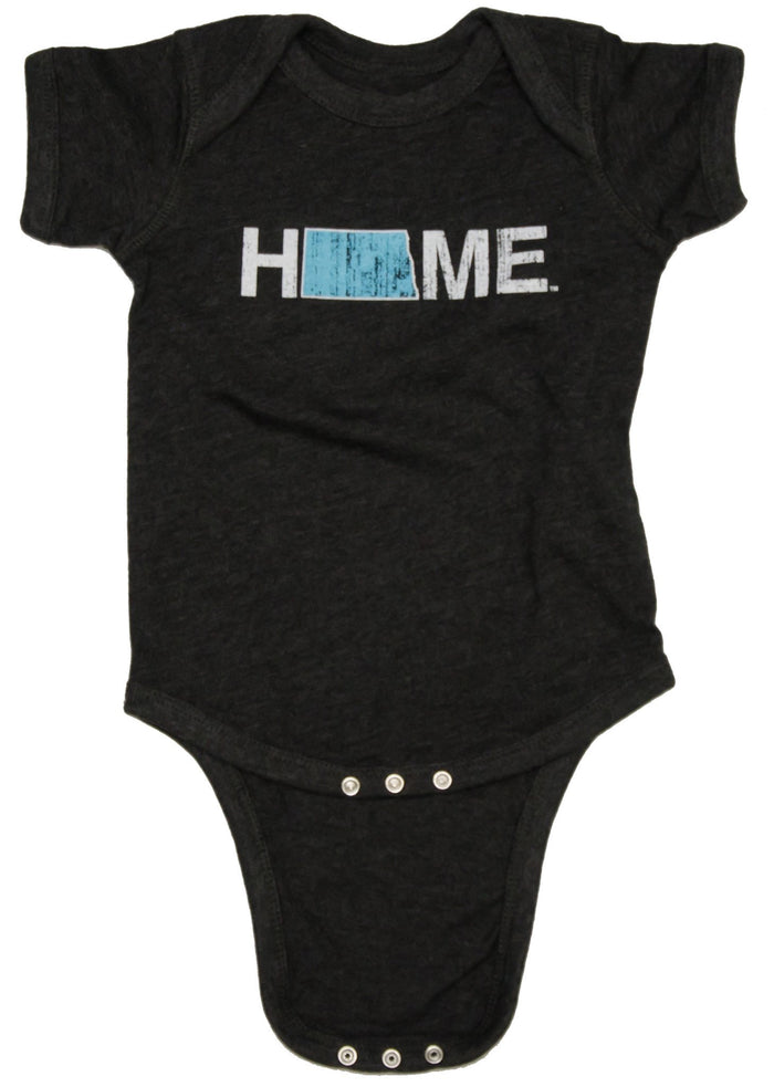 North Dakota Onesie | HOME | Baby Blue