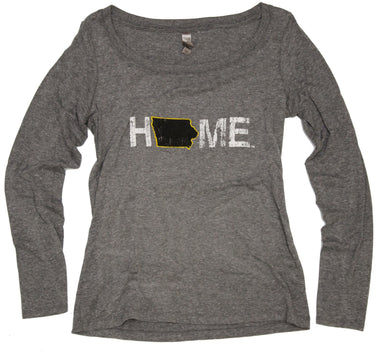 Ladies' Iowa Scoopneck | Black
