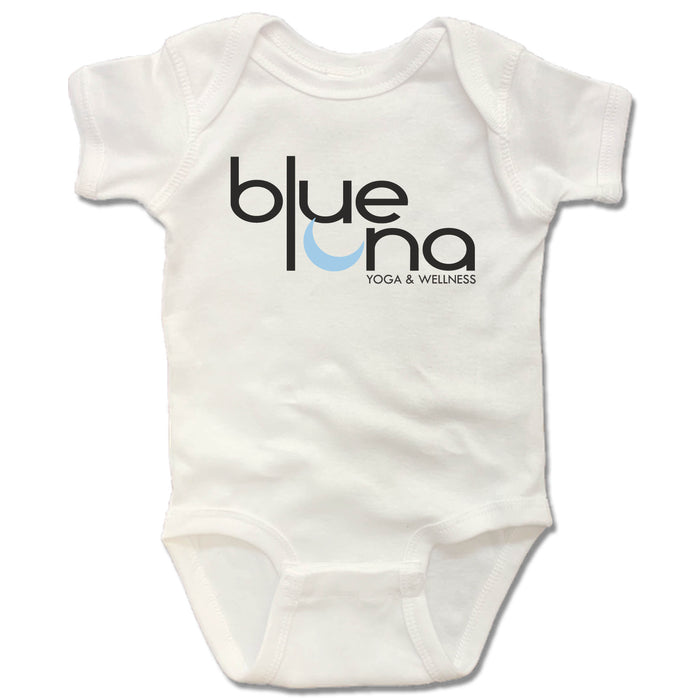 Blue Luna Yoga & Wellness | WHITE ONESIE | LOGO