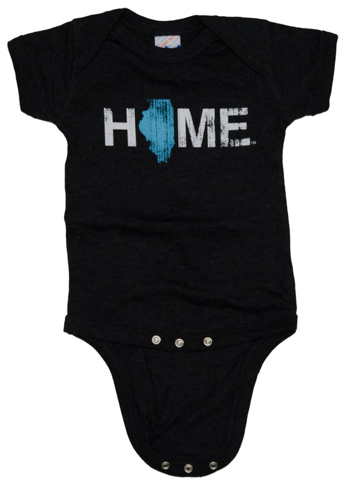 Illinois Onesie | Baby Blue