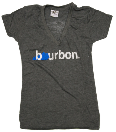 Ladies' Kentucky V-Neck | Bourbon | Blue