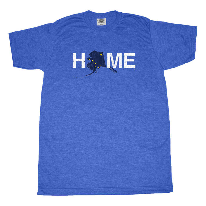 ALASKA BLUE TEE | HOME | FLAG