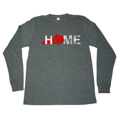 KENTUCKY LONG SLEEVE TEE | HOME | RED - My State Threads