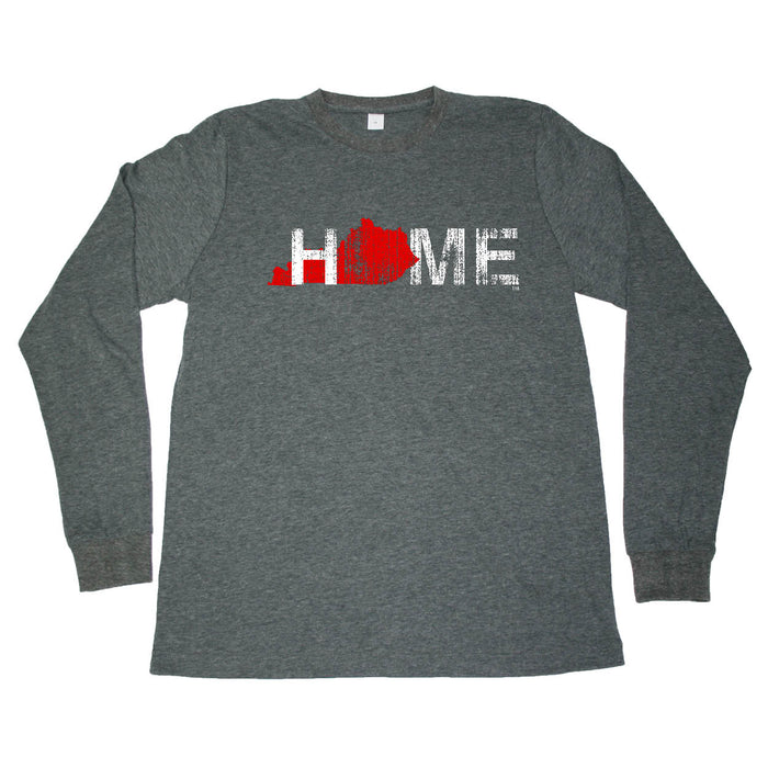 KENTUCKY LONG SLEEVE TEE | HOME | RED