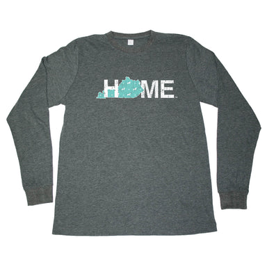 KENTUCKY LONG SLEEVE TEE | HOME | HORSE PATTERN - My State Threads