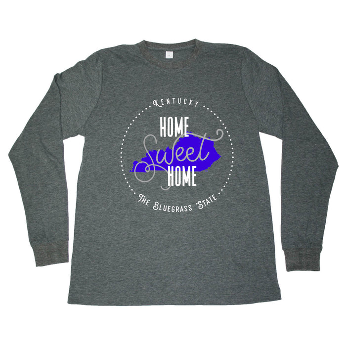 KENTUCKY LONG SLEEVE TEE | HOME SWEET HOME | BLUE