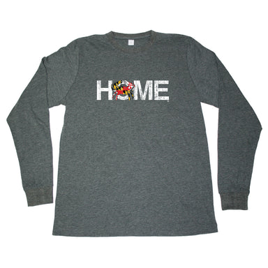 MARYLAND LONG SLEEVE TEE | HOME | CRAB - My State Threads