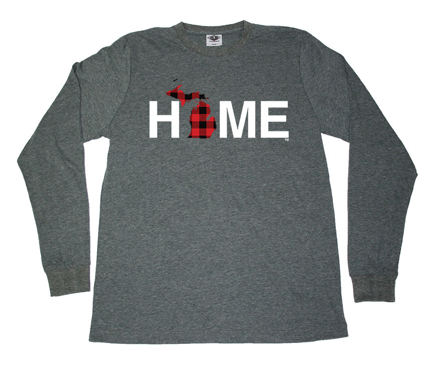 MICHIGAN LONGSLEEVE TEE | HOME | PLAID