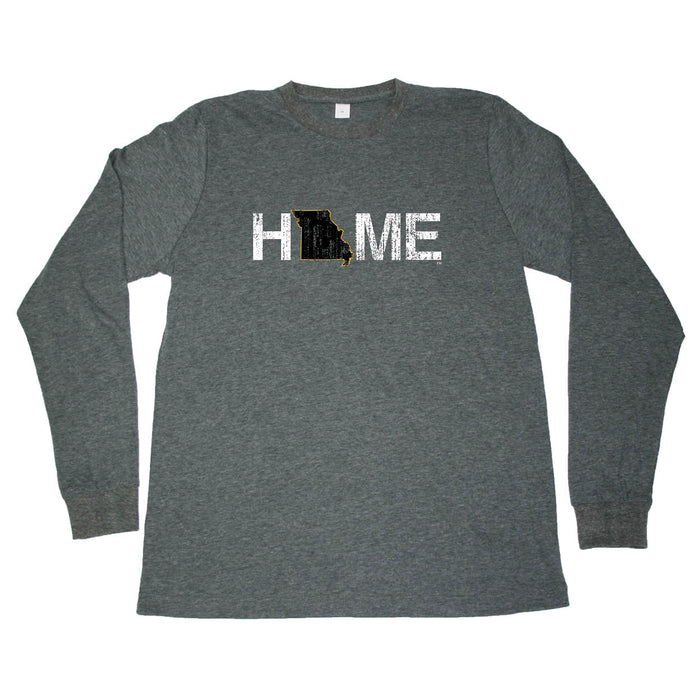 MISSOURI LONG SLEEVE TEE | HOME | BLACK