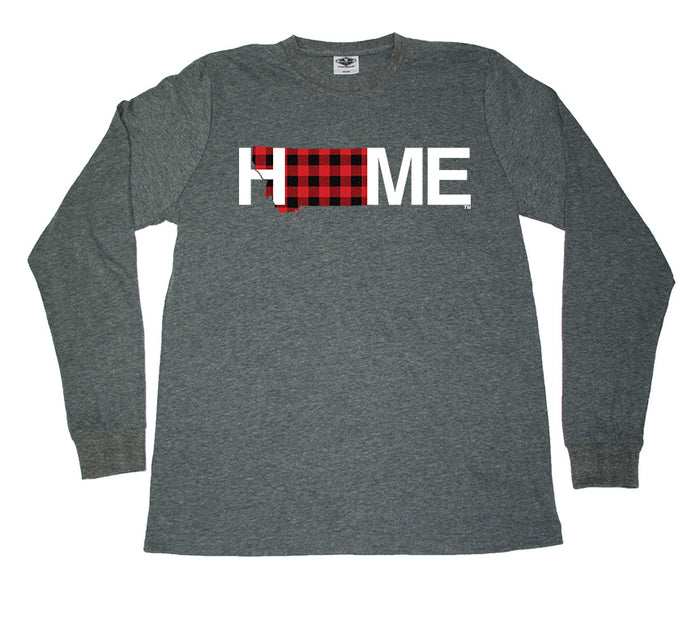 MONTANA LONG SLEEVE TEE | HOME | PLAID