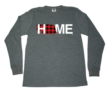 NEBRASKA LONG SLEEVE TEE | HOME | PLAID