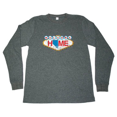 NEVADA LONG SLEEVE TEE | HOME | VEGAS SIGN - My State Threads