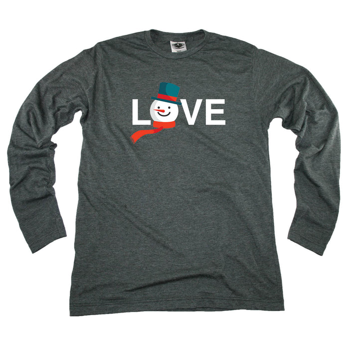 ALL STATES LONG SLEEVE TEE | LOVE | SNOWMAN