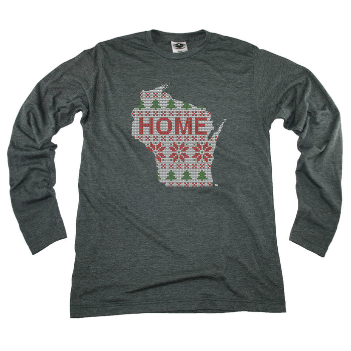 WISCONSIN LONG SLEEVE | HOME |  SWEATER