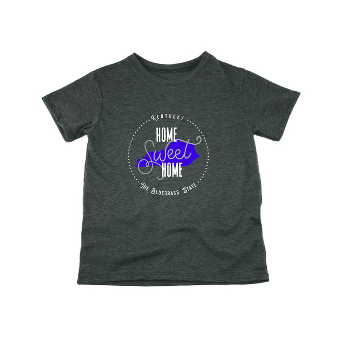 KENTUCKY KIDS TEE | HOME SWEET HOME | BLUE