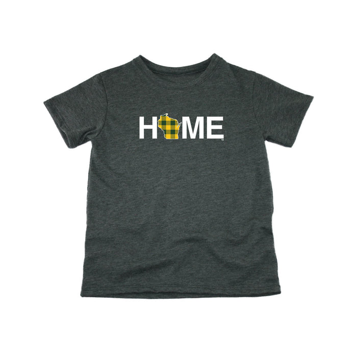 WISCONSIN KIDS TEE | HOME | PLAID GREEN/GOLD