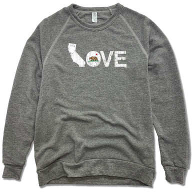 California LOVE - Eco-Fleece Sweatshirt