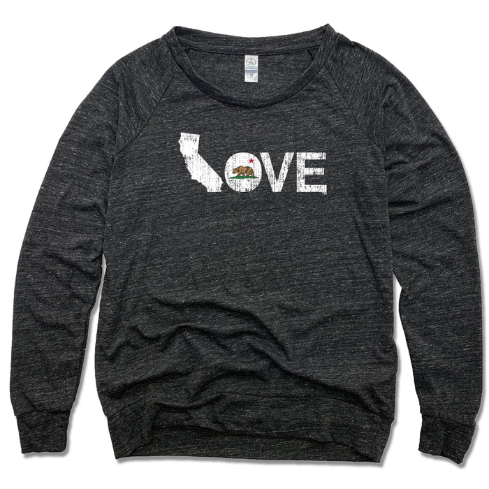 California LOVE - Eco-Jersey Slouchy