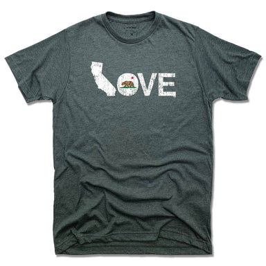 CALIFORNIA TEE - LOVE | FLAG