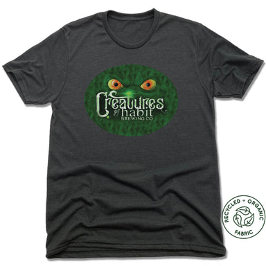 CREATURES OF HABIT | UNISEX BLACK Recycled Tri-Blend | LOGO