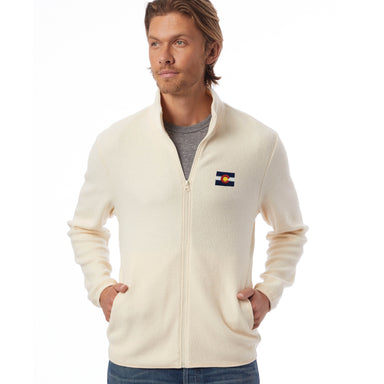 Colorado Embroidered Eco-Teddy Full-Zip Jacket