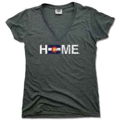 COLORADO LADIES V-NECK | HOME | FLAG