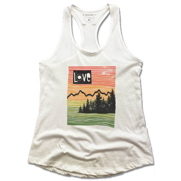 COLORADO | LADIES TANK | LOVE LINE ART