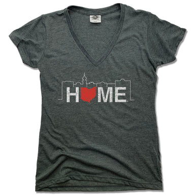 JK GIFT SHOP | LADIES V-NECK | HOME MEDINA SKYLINE