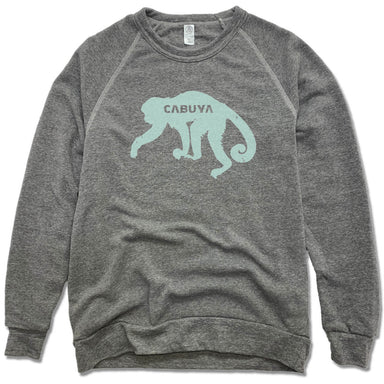 CABUYA LODGE | FLEECE SWEATSHIRT | GREEN MONKEY