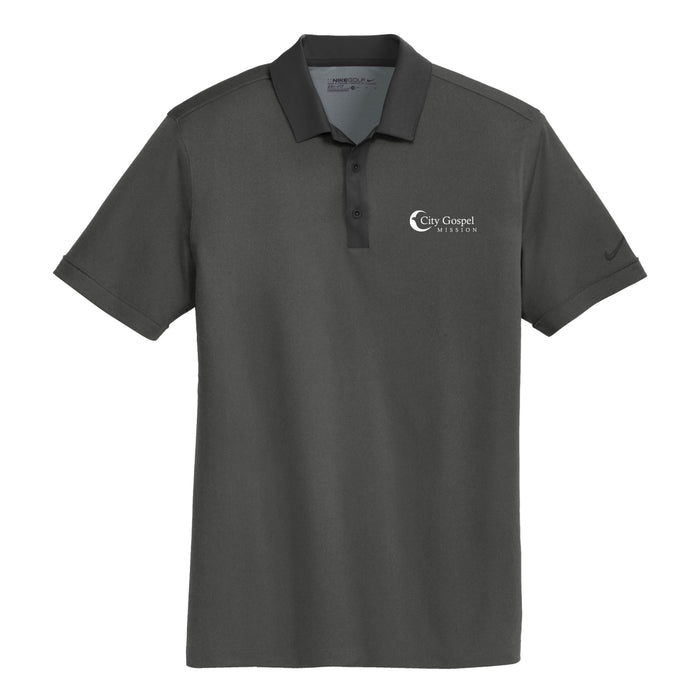 City Gospel Mission Nike Dri-FIT Heather Pique Modern Fit Polo