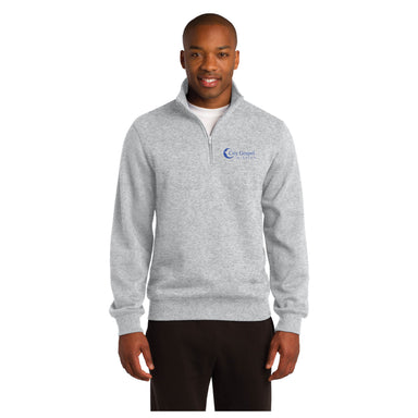City Gospel Mission Quarter Zip Sweatshirt