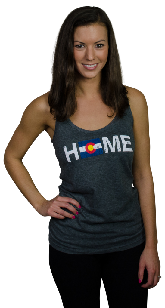 Ladies' Colorado Tank | Flag | Red/Blue/Gold