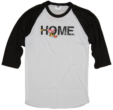 MARYLAND 3/4 SLEEVE | HOME | FLAG - My State Threads