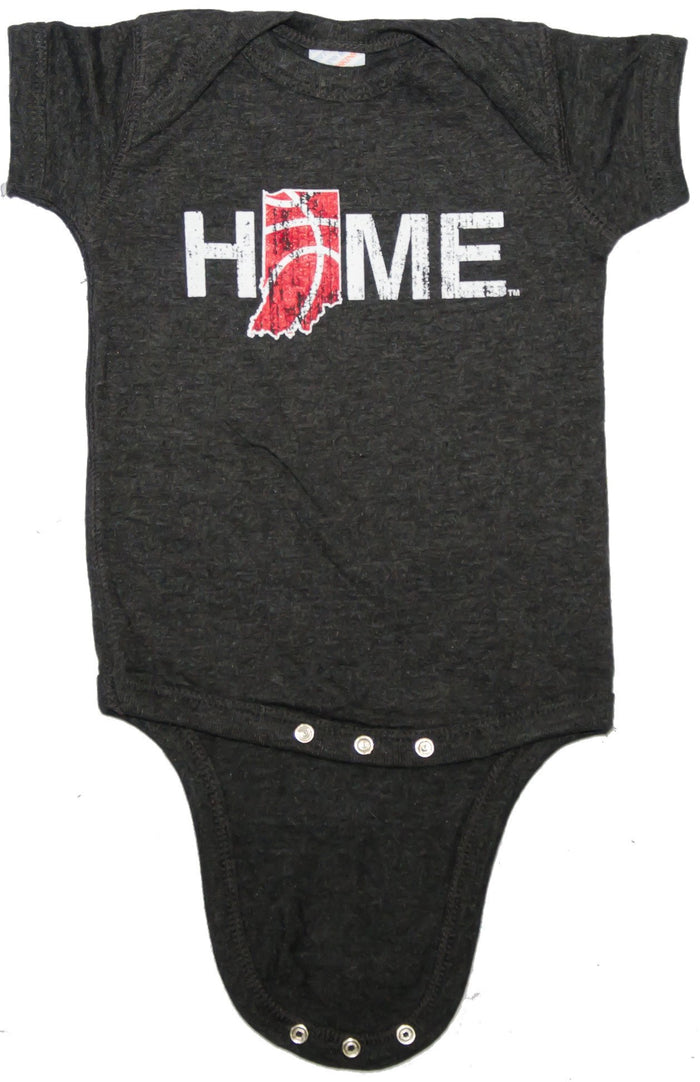Indiana Onesie | Basketball | Crimson/Cream