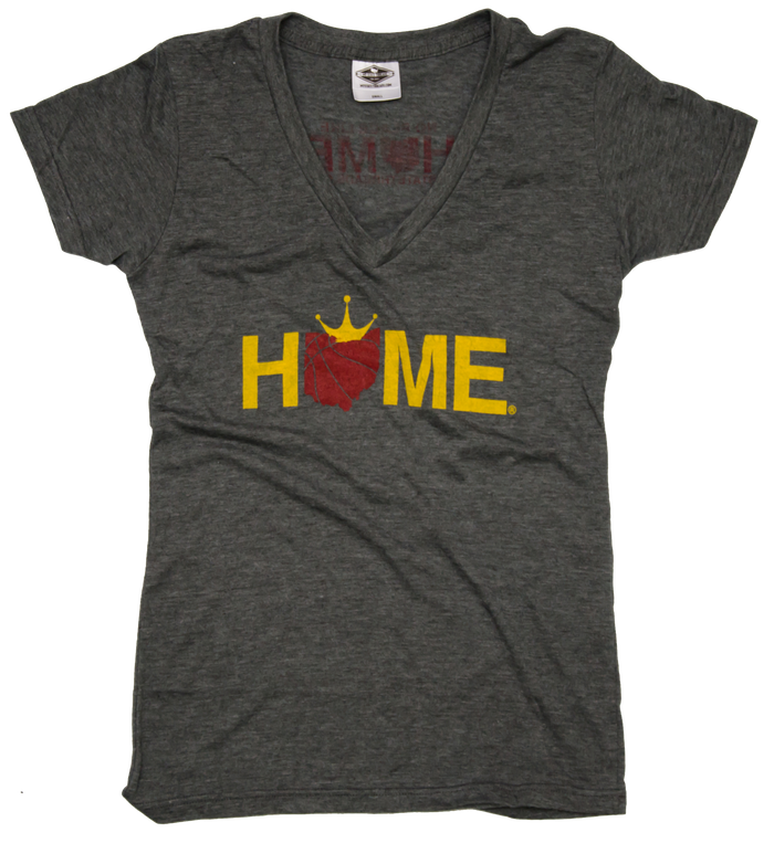 OHIO LADIES V-NECK | HOME | CROWN