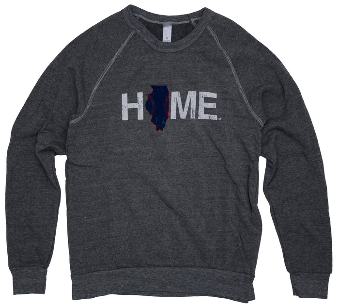 Illinois Sweatshirt | Chicago Stitches | Blue/Red