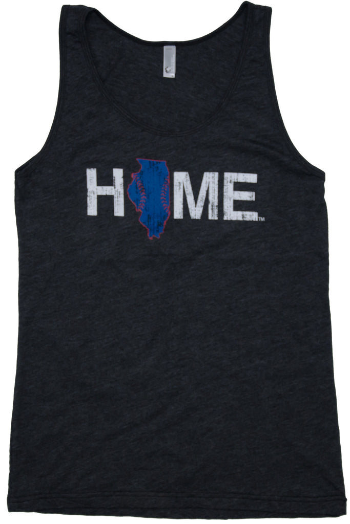 Illinois Tank | Chicago Stitches | Blue/Red