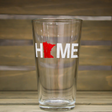 MINNESOTA PINT GLASS | HOME | RED