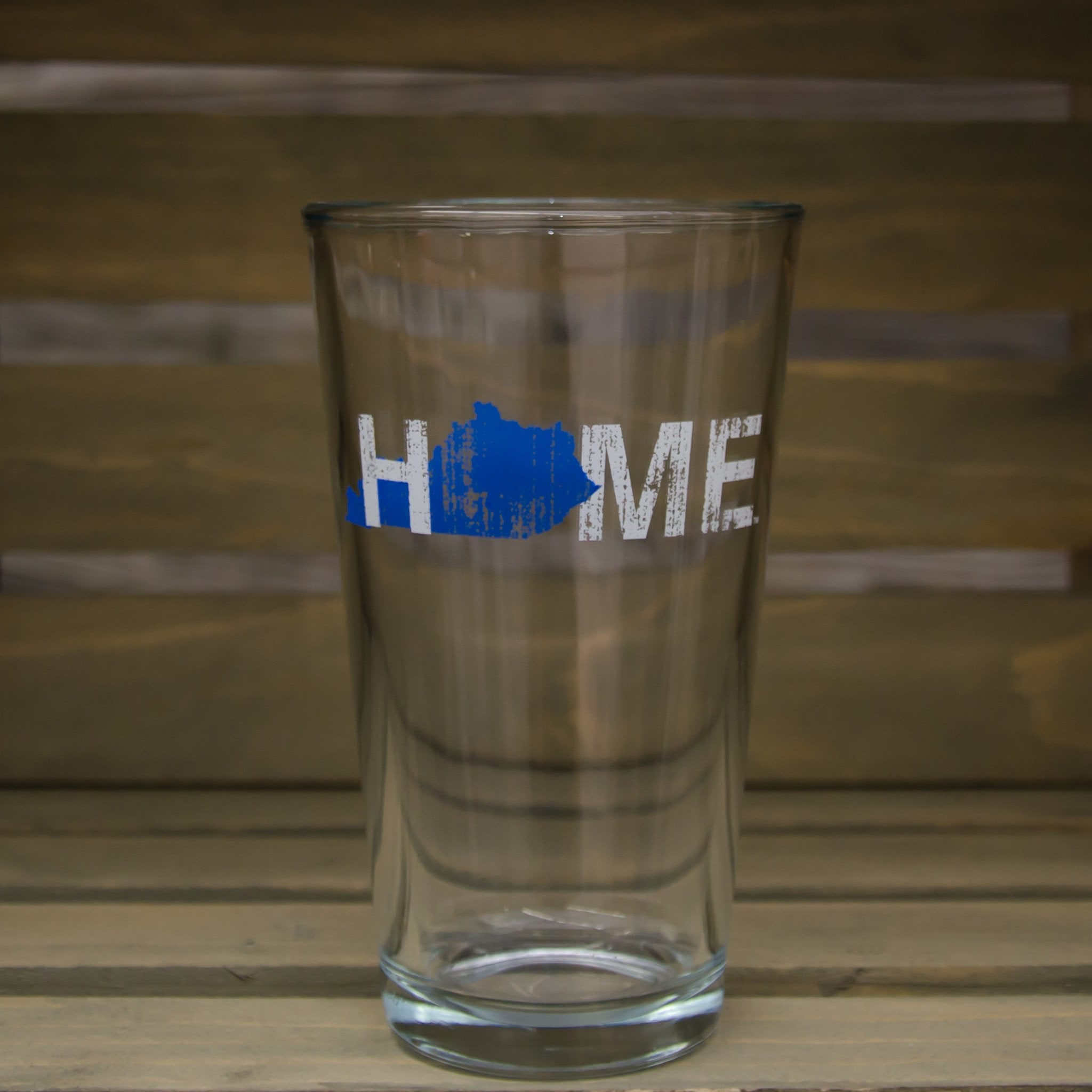 Kentucky Pint Glass | HOME | Blue