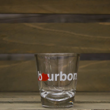 Kentucky Shot Glass | Bourbon | Red