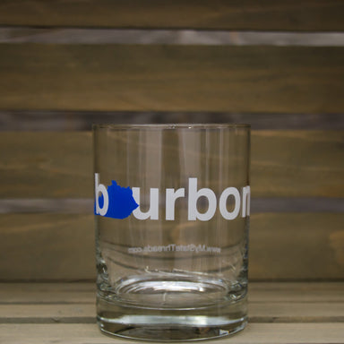 Kentucky Bourbon Glass | Blue
