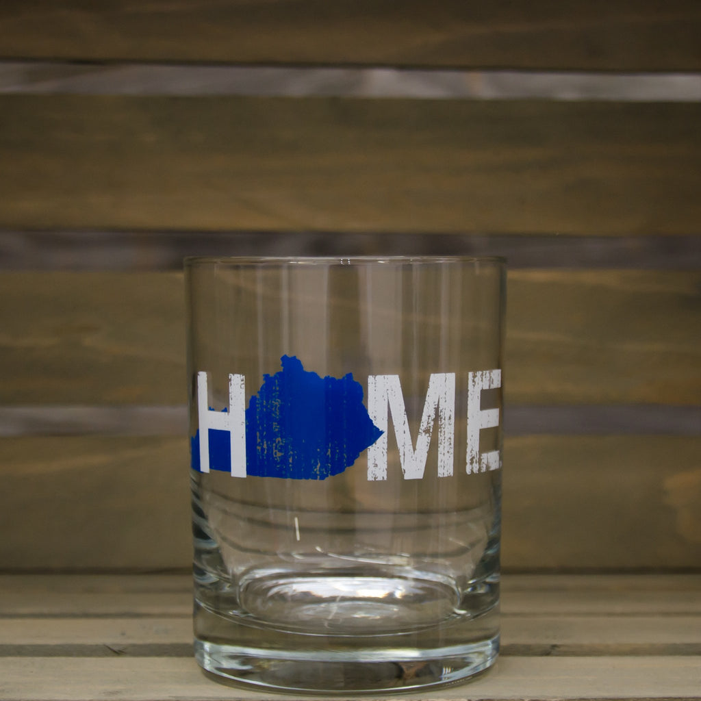 Kentucky Rocks Glass | HOME | Blue