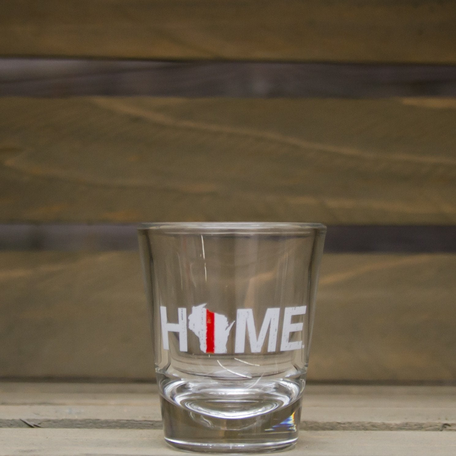 WISCONSIN SHOT GLASS | HOME | RED/WHITE