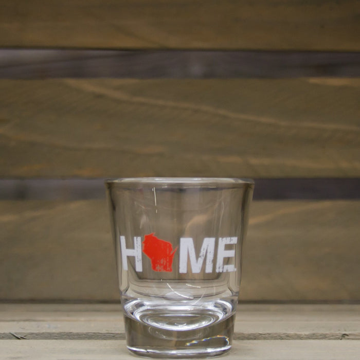 WISCONSIN SHOT GLASS | HOME | RED