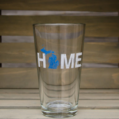 MICHIGAN PINT GLASS | HOME | BLUE